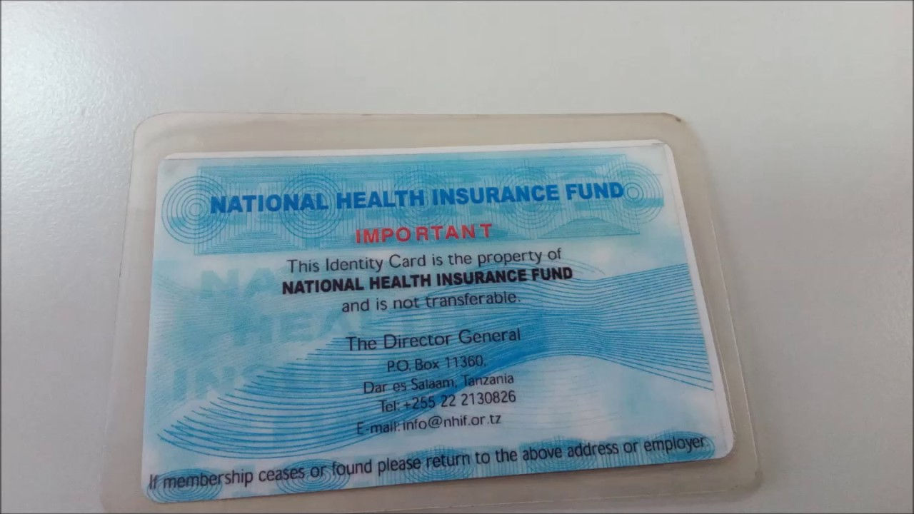 we now accept nhif insurance cards